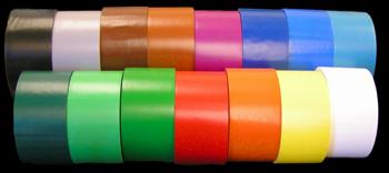 Colored Vinyl Floor Marking Tape 2 Inch Width Identi