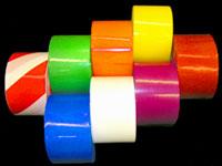 Identi Tape Colored Barricade Tape