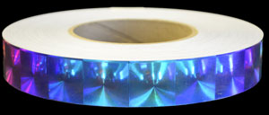 Holographic Fire Opal Tape
