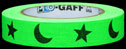 Stars and Moons on Fluor. Green