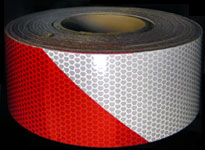 Reflective Barricade Barrier And Gate Arm Tape