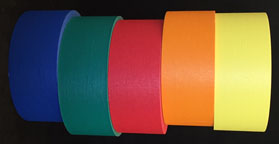 2-inch colored masking tape