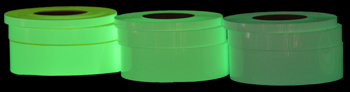 Long-Life Photoluminescent Glow-in-the-Dark Tape