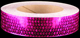 Fuschia Shimmer-Heart Tape