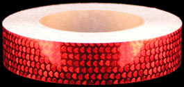 Red Shimmer Heart Tape