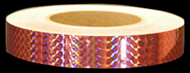 Coral Pink Prismatic Tape