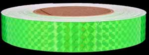 Fluorescent Green Prismatic Tape