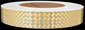 Gold Prismatic Tape