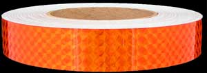 Orange Prismatic Tape