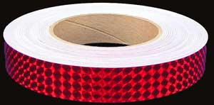 Ruby Red Prismatic Tape