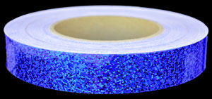Cobalt Blue Sequins Tape