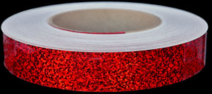 Cherry Red Sequins Tape