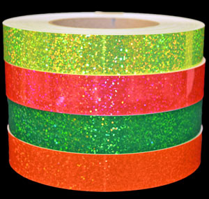 Fluorescent Sequin Tape