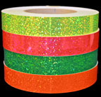 Fluorescent Sequin Tapes