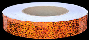 Orange Crush Sequins Tape