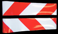 Ultra-Lite Hazard-Striped Reflective Sheeting