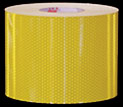 High Intensity Fluorescent Yellow Reflective Tape