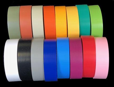 16 Colors Of Vinyl Color Coding Tape